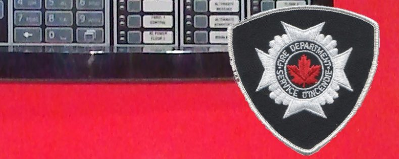 Panel and Fire Dept Badge